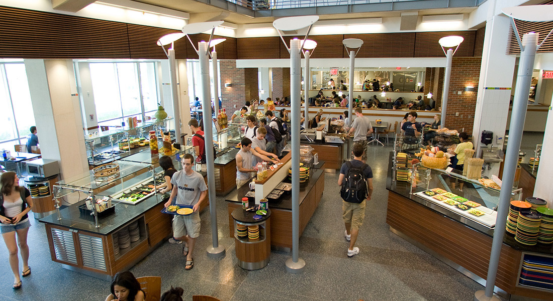 Mosher jordan m dining for U of t dining hall