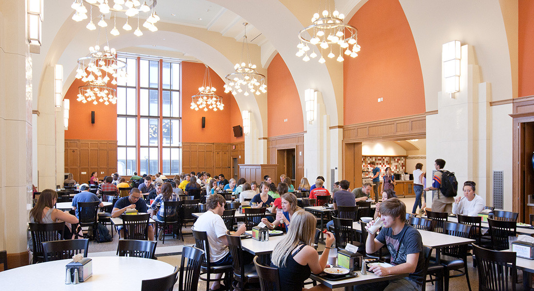 North Quad dining hall