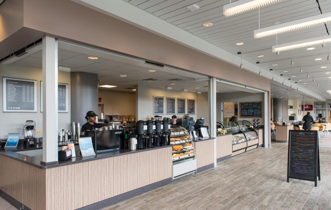 Fields Cafe at Palmer Commons.