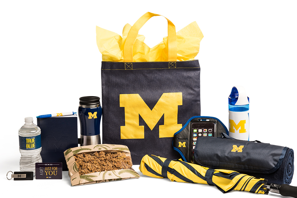 M Gift Package Welcome to Michigan