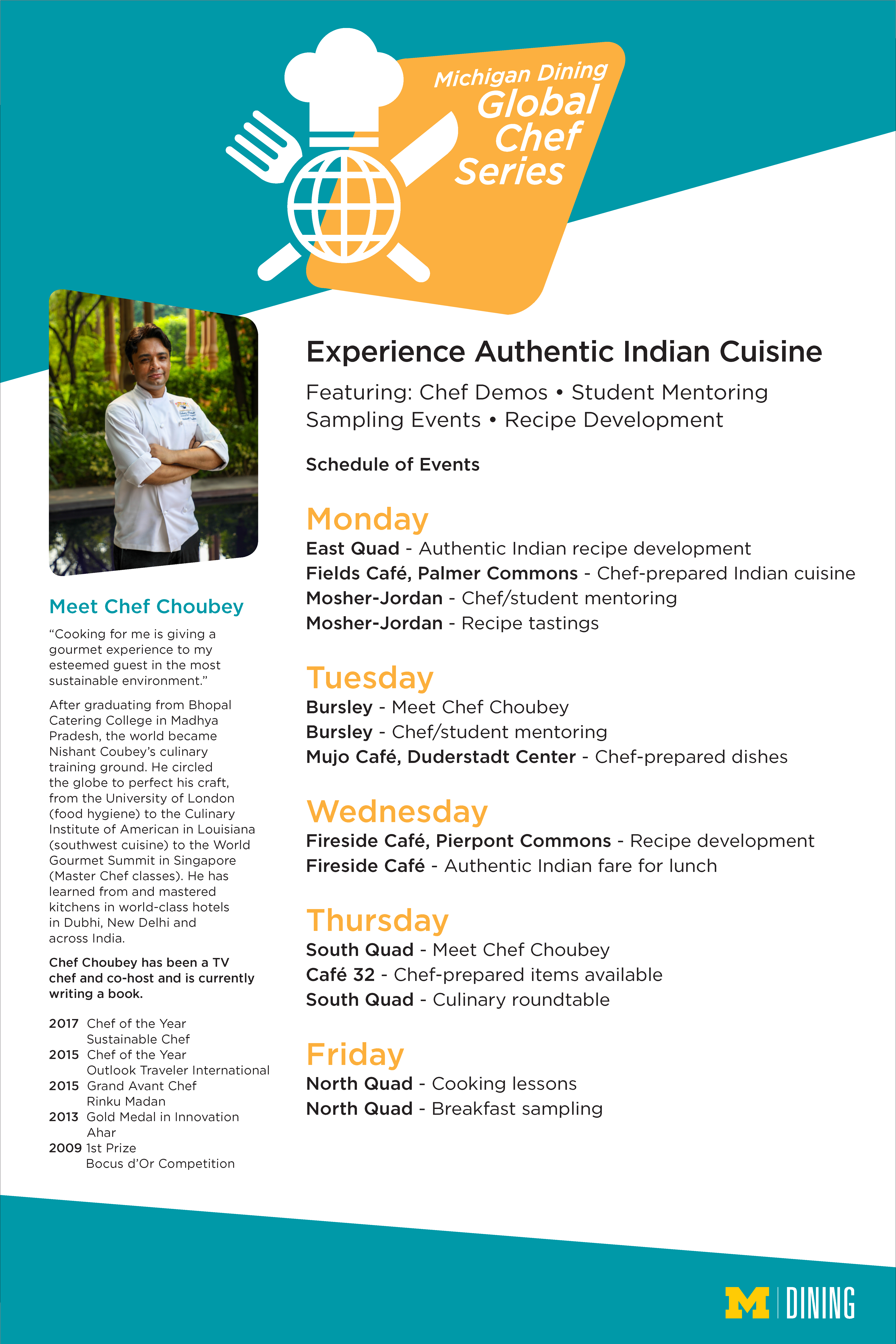 Global Chef Overview Michigan Dining